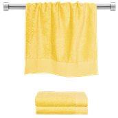TWPR-50100-YE Πετσέτα προσώπου κίτρινη 50x100 cm, Σειρά Premium , 600gr/m², Πενιέ, Fennel