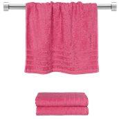 TWCO-5090-FX Πετσέτα προσώπου φούξια 50x90 cm, Σειρά Comfort, 500gr/m², Πενιέ, Fennel