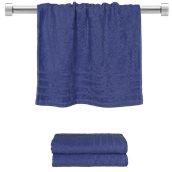 TWCO-5090-BL Πετσέτα προσώπου μπλε 50x90 cm, Σειρά Comfort, 500gr/m², Πενιέ, Fennel