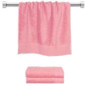 TWPR-50100-PK Πετσέτα προσώπου ροζ 50x100 cm, Σειρά Premium , 600gr/m², Πενιέ, Fennel