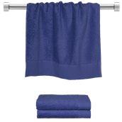 TWPR-50100-BL Πετσέτα προσώπου μπλε 50x100 cm, Σειρά Premium , 600gr/m², Πενιέ, Fennel