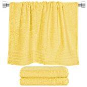 TWCO-70140-YE Πετσέτα μπάνιου κίτρινη 70x140 cm, Σειρά Comfort, 500gr/m², Πενιέ, Fennel
