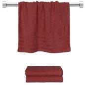 TWCO-5090-BD Πετσέτα προσώπου μπορντώ 50x90 cm, Σειρά Comfort, 500gr/m², Πενιέ, Fennel