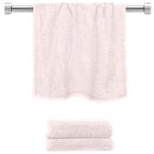 TWBA-50100-PK Πετσέτα προσώπου ροζ 50x100cm, 100% Bamboo, 650gr/m², Fennel