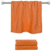 TWBA-50100-PMP Πετσέτα προσώπου πορτοκαλί 50x100cm, 100% Bamboo, 650gr/m², Fennel