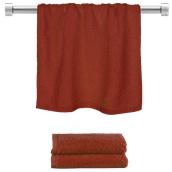 TWBA-50100-BD Πετσέτα προσώπου μπορντώ 50x100cm, 100% Bamboo, 650gr/m², Fennel