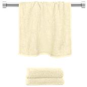 TWBA-50100-CR Πετσέτα προσώπου κρεμ 50x100cm, 100% Bamboo, 650gr/m², Fennel