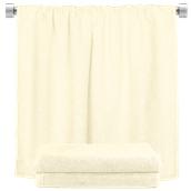 TWBA-100150-EC Πετσέτα σώματος εκρού 100x150cm, 100% Bamboo, 650gr/m², Fennel