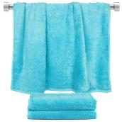 TWBA-70140-CN Πετσέτα μπάνιου γαλάζιο 70x140cm, 100% Bamboo, 650gr/m², Fennel