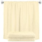 TWBA-100150-CR Πετσέτα σώματος κρεμ 100x150cm, 100% Bamboo, 650gr/m², Fennel