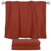 TWBA-70140-BD Πετσέτα μπάνιου μπορντώ 70x140cm, 100% Bamboo, 650gr/m², Fennel