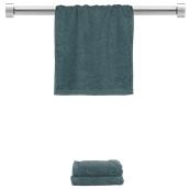 TWBA-3050-RB Πετσέτα χεριών ραφ μπλε 30x50cm, 100% Bamboo, 650gr/m², Fennel