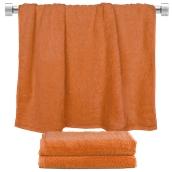 TWBA-70140-PMP Πετσέτα μπάνιου πορτοκαλί 70x140cm, 100% Bamboo, 650gr/m², Fennel