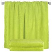 TWBA-100150-MA Πετσέτα σώματος λαχανί 100x150cm, 100% Bamboo, 650gr/m², Fennel