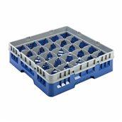 JD-25RB/BL Μπασκέτα Πλυντηρίου (κλειστού τύπου), 25 χωρίσματα, 50x50x14.3cm, μπλε