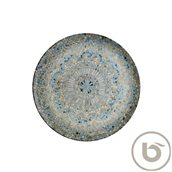 S-MT-LUCMZGRM27DZ Πιάτο Ρηχό πορσελάνης 27cm, Luca Mosaic, BONNA