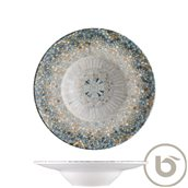 S-MT-LUCMZBNC28CK Πιάτο Βαθύ πορσελάνης 28cm, Luca Mosaic, BONNA