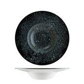 COSBLBNC28CK Πιάτο Βαθύ πορσελάνης 28cm, Cosmos Black, BONNA