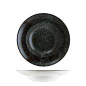 COSBLGRM27CK Πιάτο Βαθύ πορσελάνης 27cm, Cosmos Black, BONNA