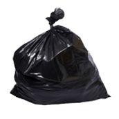 HANDY-105135 Ρολό 10 τεμ. σακούλες σκουπιδιών, απορριμμάτων 105x135cm, μαύρες