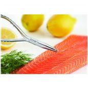 50484-16 Τσιμπίδα/Λαβίδα για κόκαλα ψαριών, INOX, TRIANGLE