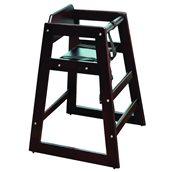 BACH-74 Παιδικό καρεκλάκι ξύλινο Wenge, 50x50x74cm