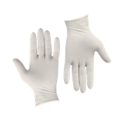 2999220103 Σετ 100τεμ γάντια Λάτεξ, ελαφρώς πουδραρισμένα, LARGE, Endless