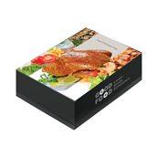 025.03.000 Κουτί μεταλιζέ GOOD FOOD ΚΟΤΟΠ.μεγάλο, 26x17.2x8cm