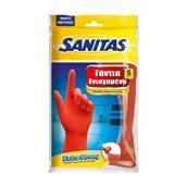 8571020078 Ζεύγος Γάντια γενικής χρήσης, Ενισχυμένα, Small, SANITAS PRO