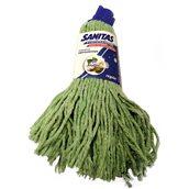 8571028277 Σφουγγαρίστρα με Νήμα Cotton Regular, πράσινη, SANITAS PRO