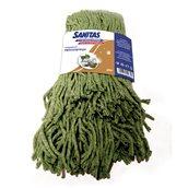 8571029759 Σφουγγαρίστρα Επαγγελματική με Νήμα Cotton Plus, πράσινη, SANITAS PRO
