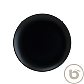 NOTGRM30DZ Πιάτο Ρηχό πορσελάνης 30cm, Notte Black, BONNA