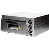 HEP-1ST Ηλεκτρικός Φούρνος Πίτσας, Μονός, θάλαμος 40x40cm, 2KW, έως 350°C., KARAMCO
