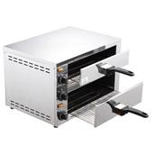 FP-03A Ηλεκτρικός Φούρνος Πίτσας, Διπλός, έως Φ30cm, 2260W, 60-300°C., KARAMCO