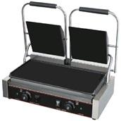 HEG-813EB Ηλεκτρική Τοστιέρα Grill, διπλή, 67x23cm, Λεία, 4.4KW, KARAMCO