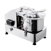 GRT-HR-9 Ηλεκτρικός Πολτοποιητής (cutter), Επιτραπέζιος, INOX, 9 λίτρων, 950W, KARAMCO