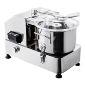 GRT-HR-12 Ηλεκτρικός Πολτοποιητής (cutter), Επιτραπέζιος, INOX, 12 λίτρων, 950W, KARAMCO