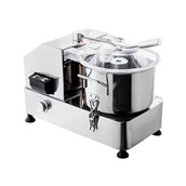 GRT-HR-6 Ηλεκτρικός Πολτοποιητής (cutter), Επιτραπέζιος, INOX, 6 λίτρων, 750W, KARAMCO