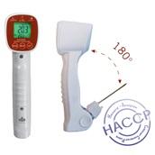 92000-005-ca Θερμόμετρο Ψηφιακό Υπέρυθρο + περιστρεφόμενη Ακίδα HACCP, IP65, -40 έως 280°C, Alla France