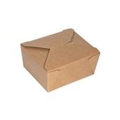 P009062 Χάρτινο κουτί, Kraft, 11x9x6cm, μιας χρήσης, ROIS Bros