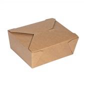 P009060 Χάρτινο κουτί, Kraft, 19x14x6cm, μιας χρήσης, ROIS Bros