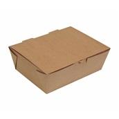 P005879 Χάρτινη συσκευασία κωνική, Kraft, 20x14x7.5cm, μιας χρήσης, ROIS Bros