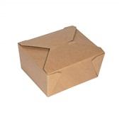 P009063 Χάρτινο κουτί, Kraft, 15x12x6.5cm, μιας χρήσης, ROIS Bros