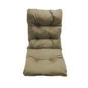 AI-MX-11167 Μαξιλάρι καρέκλας 45x105x8cm με πλάτη, Bamboo, Υδρόφοβο, Μπεζ, Artisti Italiani
