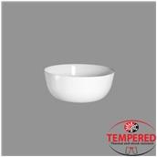 TOL-SB-19 Σαλατιέρα Οπαλίνης 19 cm, Λευκή, Tempered, Σειρά Toledo, Bormioli Rocco