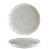 S-MT-LUNHYG28CK Πιάτο Βαθύ Pasta πορσελάνης 28cm, Lunar Grey, BONNA