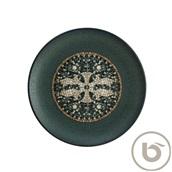 S-MT-MZPMAGRM30DZ Πιάτο Ρηχό πορσελάνης 30cm, Mesopotamia Anthracite, Bonna
