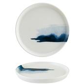 BLWHYG28DZ Πιάτο Ρηχό πορσελάνης 28cm, Blue Wave, BONNA