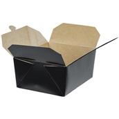 BKDBOX04/BLACK Χάρτινo κουτί Kraft (φάκελος), 21.5x15.8x9cm, μιας χρήσης, Μαύρο
