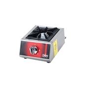 DRNMO-1-LPG Εστία γκαζιού (20x20cm) LPG επιτραπέζια INOX, μονή, 25x30x16cm, 5KW, 4340Kcal, DRN